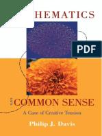 Philip J. Davis - Mathematics & Common Sense_ A Case of Creative Tension-A K Peters (2006).pdf