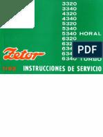 V on Zetor 3320 Electrical System