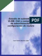 Estudio de subnetting, VLSM, Cidr y comandos de administración y_nodrm.pdf