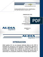 Aldia logistica S.A. - Diagnostico Expo - A.pptx