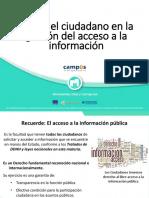 el rol del ciudadano en la gestión del acceso a la información