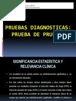 Pruebas  diagnosticas