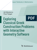 (Compact Textbooks in Mathematics) Ad Meskens, Paul Tytgat (auth.) - Exploring Classical Greek Construction Problems with Interactive Geometry Software-Birkhäuser Basel (2017).pdf