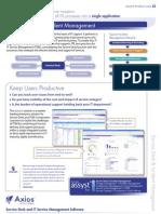 ITSM ITIL Service Desk and Incident Management Product Flyer