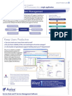 ITSM ITIL Service Desk and Incident Management Product Flyer