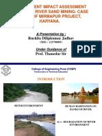 EIA report on Sand Mining