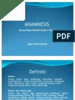 Anamsesis