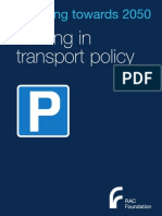 Parking in Transport Policy - Rac Foundation