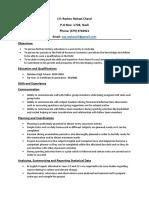 Reshav's CV
