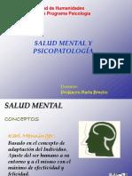 Salud Mental y Psicopatologia