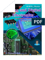 Analog and Digital Electronics for CBCS degree students