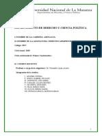 Derecho administrativo 2018