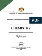 Kurikulum Bersepadu Sekolah Menengah - Chemistry Form 5