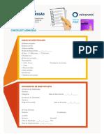 Checklist Admissão e Demissão
