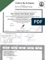Titulo Licenciado Empresariales