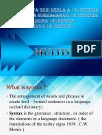 Multi Syntax
