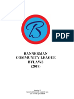 bannerman by-law 2019