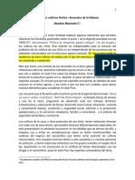 Relación cultivos ilícitos - Acuerdos de la Habana