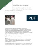 Fundamento Moral Social Cristiana