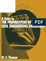 A guide to the preparation of civil engineering drawing.pdf