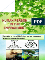 Human Person in the Environment Final