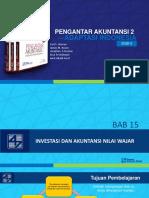 Bab 15 Investasi dan Akuntansi  Nilai Wajar.pptx