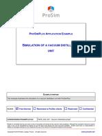 PSPS E23 en Vacuum Distillation