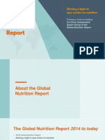 2018 Global Nutrition Report Launch Slide Deck