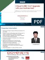 Oracle Financial cloud resume