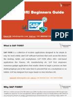 SAP FIORI Pdf,SAP Fiori Training Material.pdf