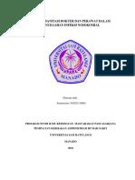 HIGIENE SANITASI DOKTER DAN PERAWAT DALAM PENCEGAHAN INFEKSI NOSOKOMIAL  2.docx