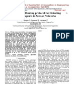 A Protected Routing Protocol for Detecting Failure Reports in Sensor Networks