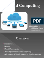 Ppt on Cloud computing