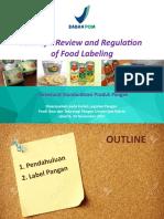 Regulation on Food Quality_univ Sahid2017