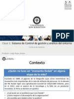 Control de Gestion y Analisis Del Entorno.