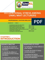 Occupational Stress Slides