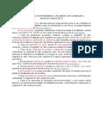 Opisul Dosarului de Grad Didactic II