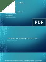 1.Technical Master Data(TDM)