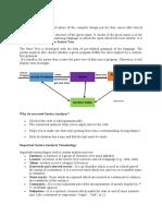 Basics of Compiler