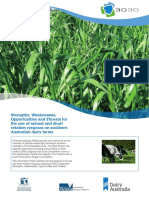 Strengths weaknesses opportunities and threats for the use of perennial ryegrass on southern Austral.pdf