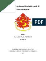 laporan metil salisilat 2018
