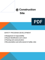 Construction Safety Management