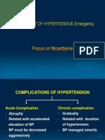 5.Hypertension NICARDIPIN