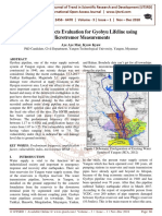 Local Site Effects Evaluation for Gyobyu Lifeline using Microtremor Measurements
