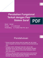 Perubahan Fungsional Terkait Dengan Penuaan Sistem Saraf