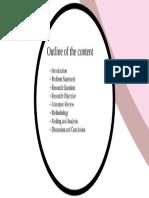 VIVA Slide Outline - Sample
