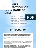 CUSTOMER SATISFACTION  OF  BANK OF INDIA (1).pptx