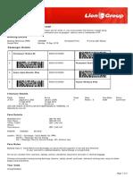 Lion Air ETicket (YXWWBH) - Heriyawan