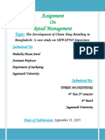 Assignment on Retail Management Topic Th