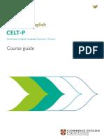 CELT-P Course Guide